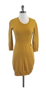 See by Chlo short dress Mustard Yellow Knit Sweater on Tradesy