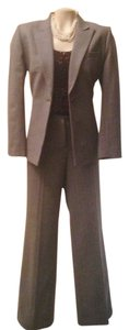 Antonio Melani Grey wool chalk stripe suit-