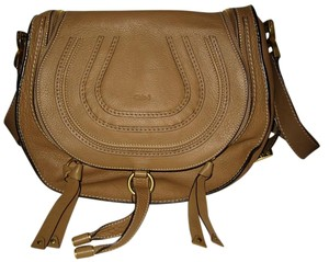 Chloé Leather Saddle Cross Body Bag
