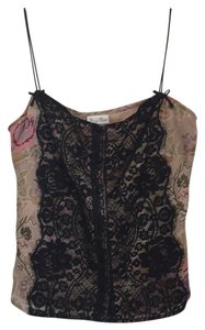 Tracy Reese Top Black lace/floral