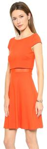 Bailey 44 short dress Orange Mesh Illusion Flowy on Tradesy