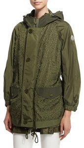 Moncler Parka Long Coat Oversized olive Jacket