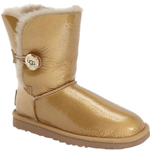 UGG Australia Bailey Button Mirage Gold Uggs Boots
