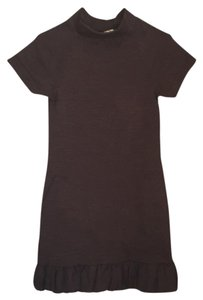 Zara short dress Brown on Tradesy