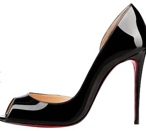 Christian Louboutin Demi Black patent Pumps