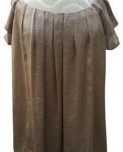 Dress Barn Top Taupe