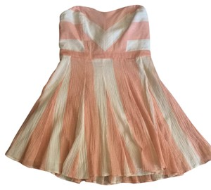 Urban Outfitters short dress Peach and Cream on Tradesy