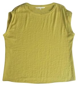 Rachel Roy Top Green Yellow
