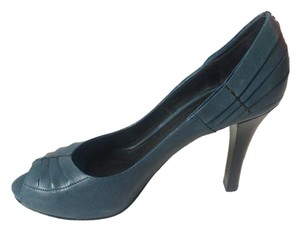 Bottega Veneta Made In Italy Blue Pumps