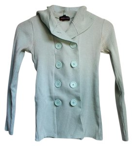 Takeout Double Breasted Button Hoodie Cardigan