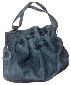 Christain Dior Satchel in Pewter Gray