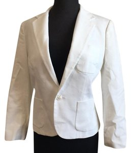 Polo Ralph Lauren White Blazer