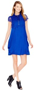 Kensie short dress Blue on Tradesy