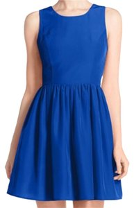 Amanda Uprichard short dress Blue on Tradesy