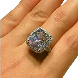 Other 8 CTW SIMULATED DIAMOND ENGAGEMENT RING