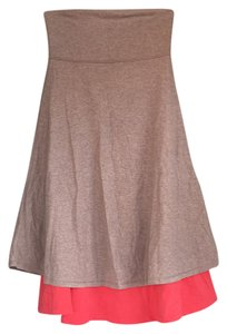 Lululemon short dress coral, tan on Tradesy