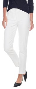 J.McLaughlin Classic Straight Pants White