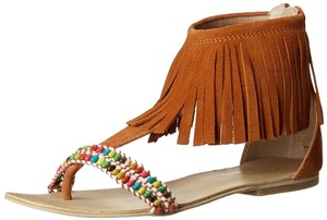 rebels Fringe Brown Sandals