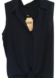 Boston Proper Button Down Shirt Navy