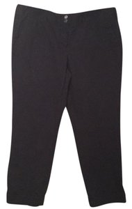 Dalia Ankle Structured Chino Classic Capri/Cropped Pants Navy