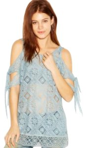 Free People Top Lagoon Green