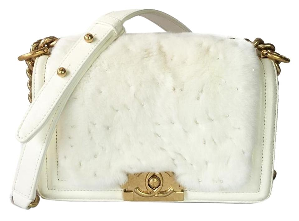 Chanel Classic Flap Boy Le Small with   Date Code 21xxxxxx White ... 952de911cf4ac