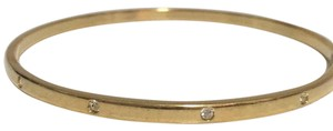 Swarovski Swarovski Gold Plated Bangle