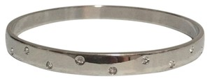 Swarovski Swarovski Rhodium Plated Bangle