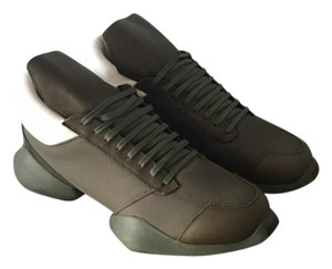 Rick Owens Canvas Army Green Athletic