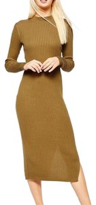 Olive green Maxi Dress by Monki