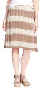 Eileen Fisher Silk Skirt Mocha