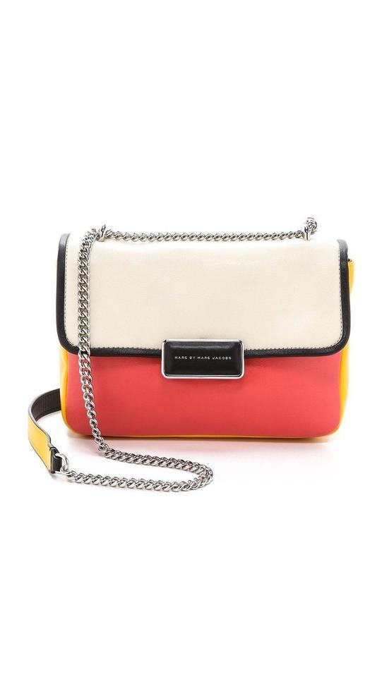 5449d4af9066 Marc by Marc Jacobs Rebel 24 Colorblock White Birch Multi Leather ...