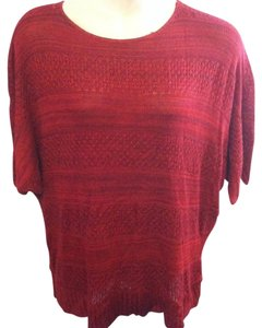 Kim Rogers Plus Size Pullover Sweater