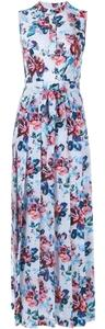 Multi Maxi Dress by MARY KATRANTZOU Silk Floral Flowy Luxury Print