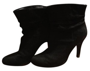 INC International Concepts Black Suede Boots