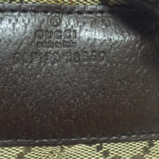 6ac86a894ac 55% Discount Off - Gucci Serial Number 00212228550 Brown and Beige ...