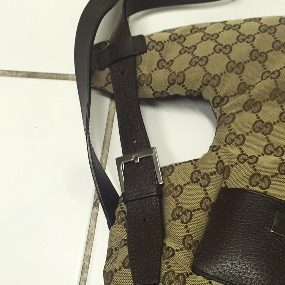 34c8a4f75ac Gucci Serial Number 00212228550 Brown and Beige. Diaper Bag - Tradesy