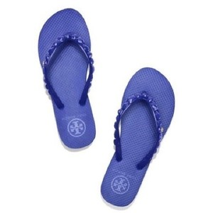 Tory Burch Royal Blue Wedges