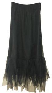 Lilith Maxi Skirt Black