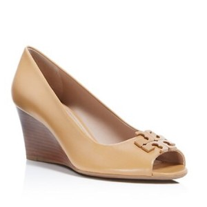 Tory Burch Light Oak Wedges
