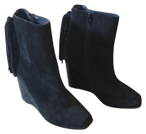 Jeffrey Campbell Boot Bootie Suede Black Boots