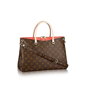 Louis Vuitton Canvas Tote in Cherry