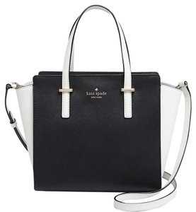 Kate Spade Satchel in Black/cement