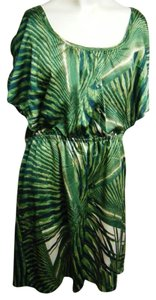 Robbie Bee short dress Green Bamboo Grees Short on Tradesy