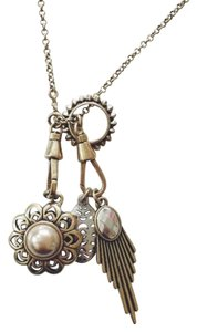 Lucky Brand Convertible Charm Necklace