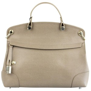 Furla Satchel in Taupe
