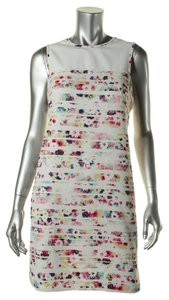 Shoshanna short dress White on Tradesy