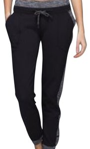 Lululemon Lululemon Base Runner Pant Coco Pique Black Sz 8