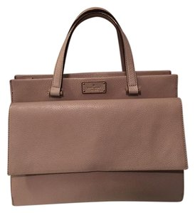 Kate Spade Tote in taupe and black