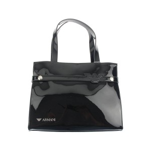Armani Junior Satchel in Black